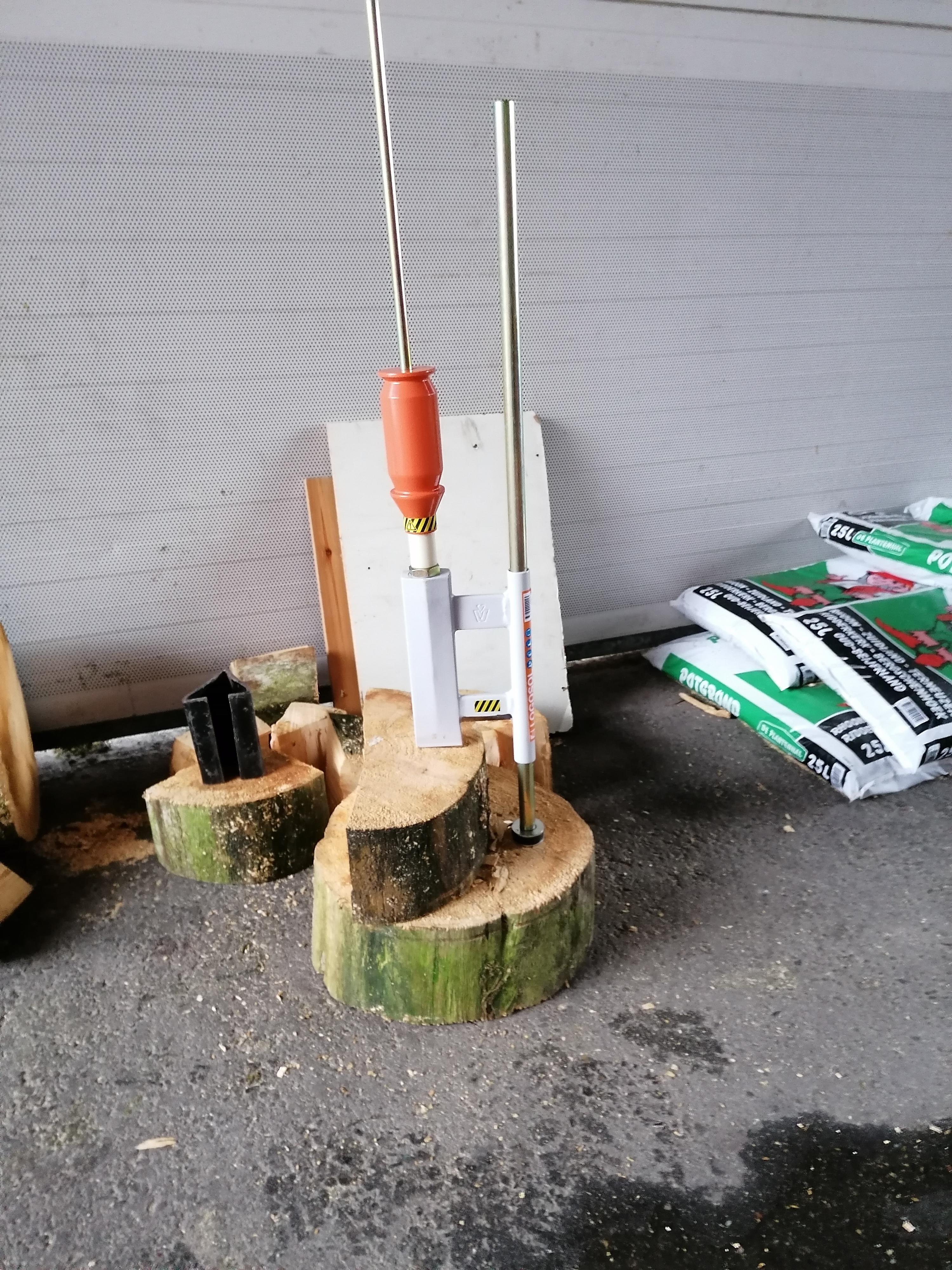 Smart Splitter houtklover gebruik: Smart Splitter houtklover